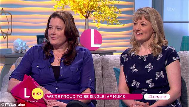 IVF mums on ITV Lorraine, The Fertility Clinic Success Stories