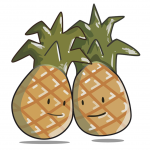 The IVF Babble Pineapple Pin