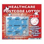 Postcode Lottery Scratchcard